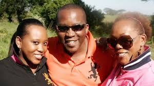 Daughter, Jimmy Gathu and granddaughter