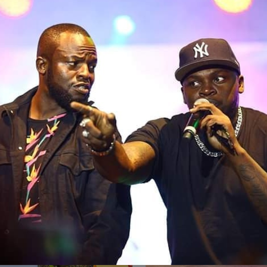 Khaligraph Jones and his brother