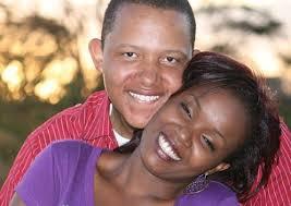 OJ Tahidi High and his wife