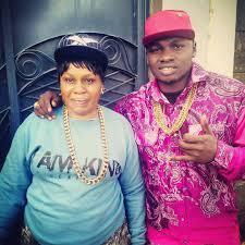 Khaligraph Jones and his mother