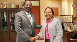 Raila meets Waiguru