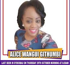 Alice Wangui Githumbi